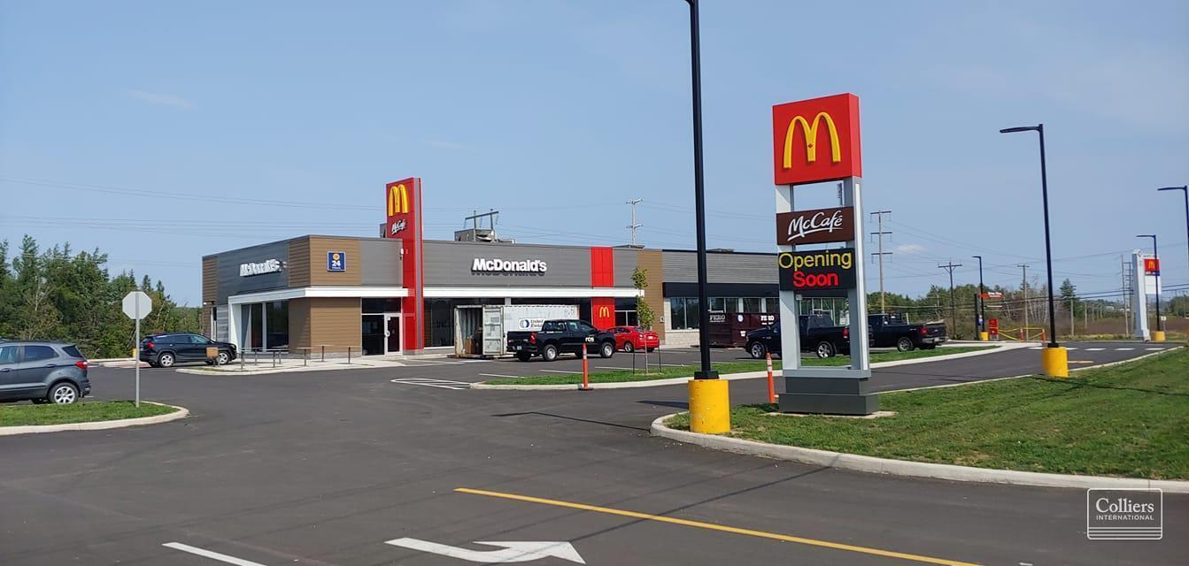 McDonald's Restaurant is now open in Plaza 1!
