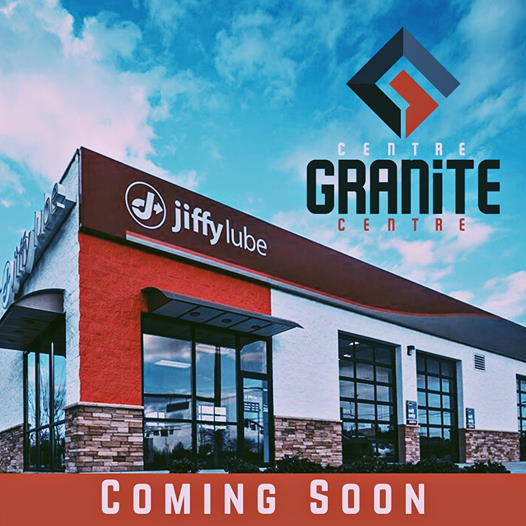 Jiffy Lube coming soon to Granite Centre